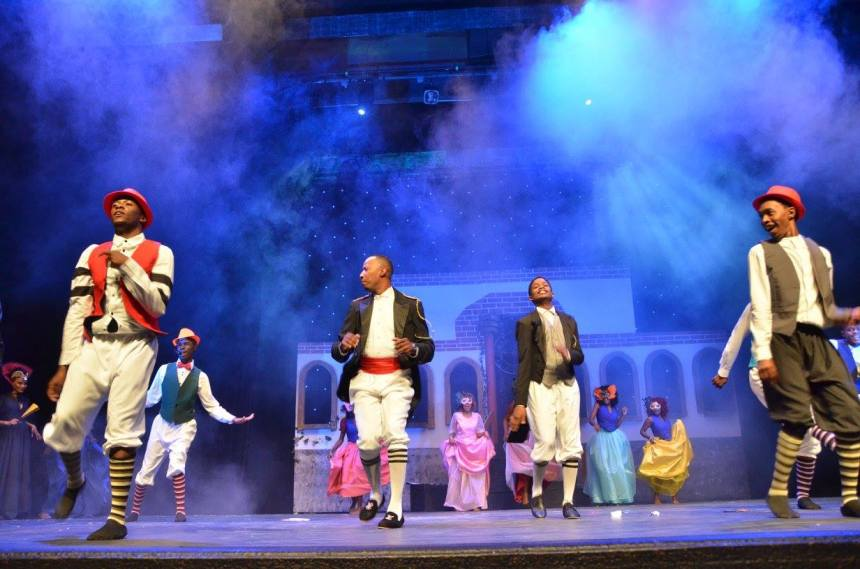 Aspoestertjie (Cinderella) 2017 Adapted for Namibia by Abraham Pieters
