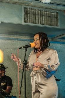 2019 Song Night Ambassador, Treza. (Images: Martin Amushendje)