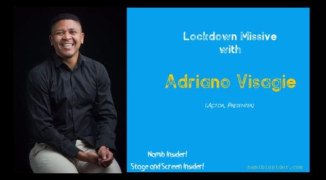 Lockdown Missive: Adriano Visagie