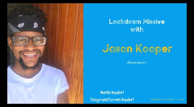 Lockdown Missive: Jason Kooper