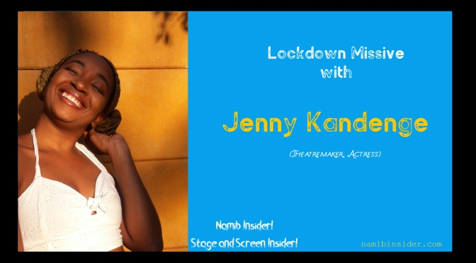 Lockdown Missive: Jenny Kandenge
