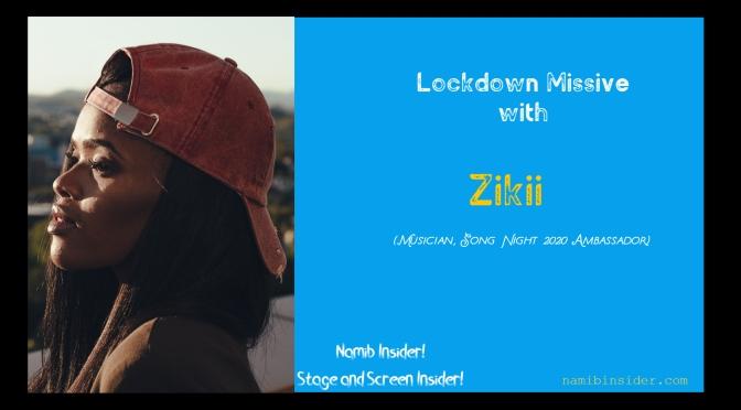 Lockdown Missive: Zikii